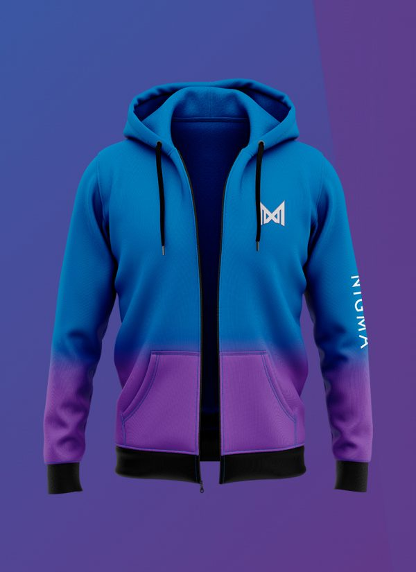 Official Team Nigma Zip up hoodie